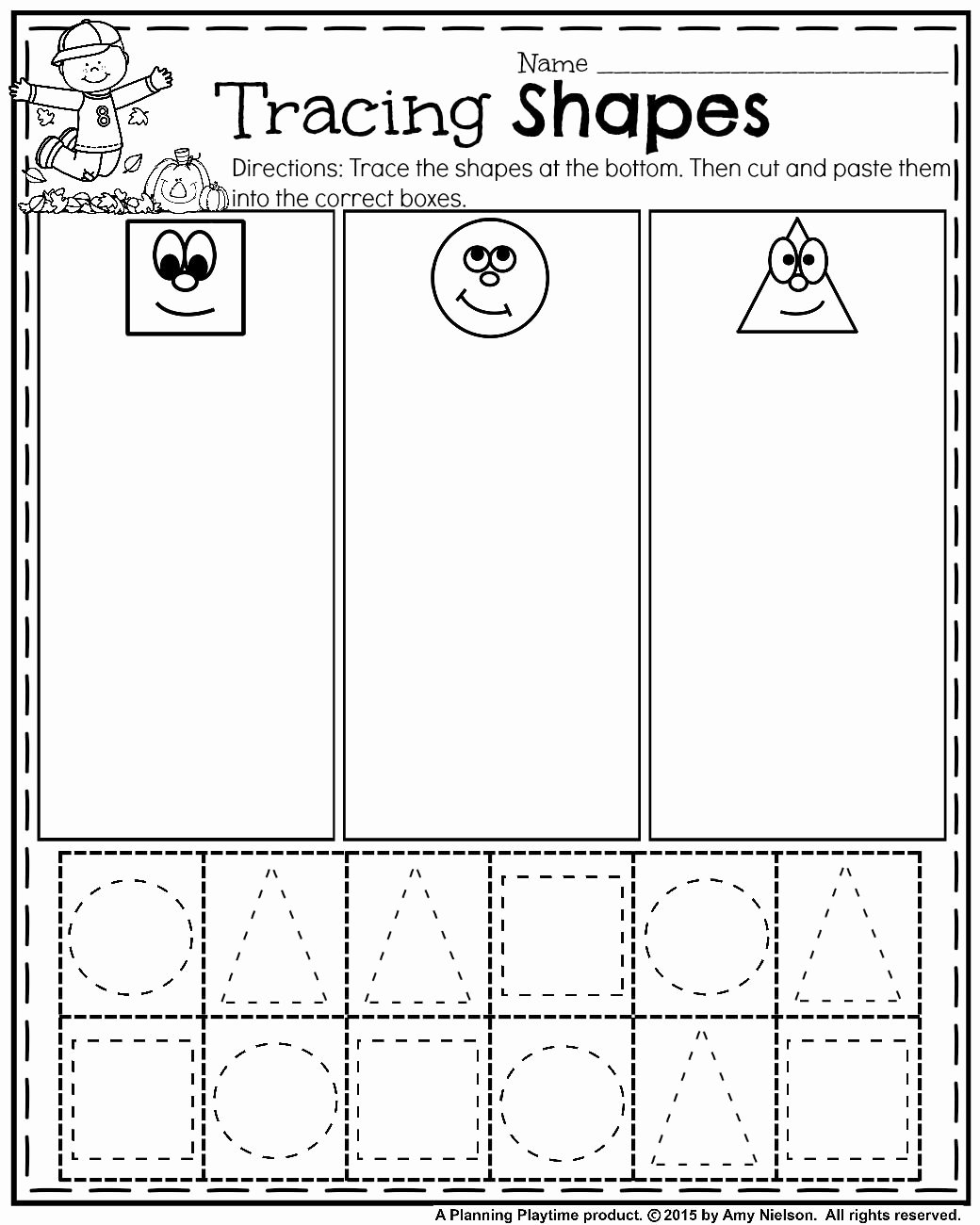Rainbow Worksheets for Preschoolers Inspirational October Preschool Worksheets Am Rainbow