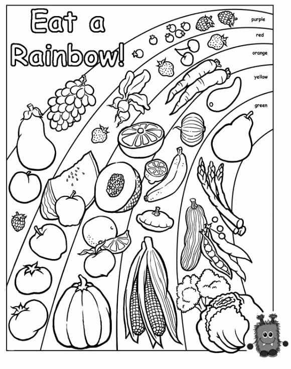 Rainbow Worksheets for Preschoolers Unique Words to Live by Eat A Rainbow Worksheets
