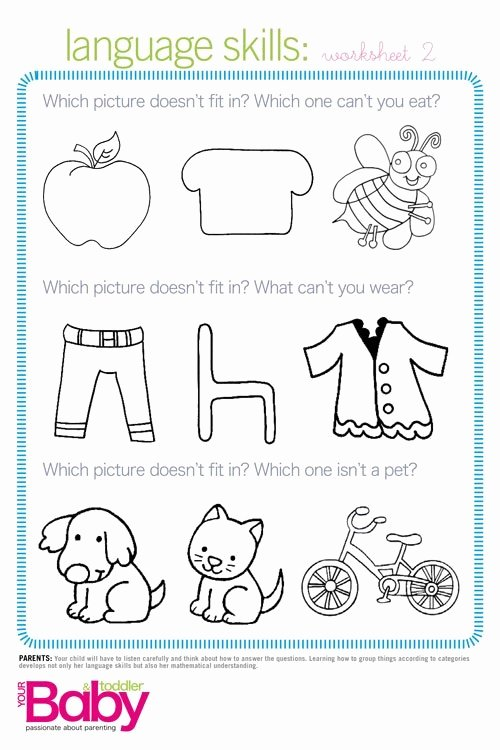 Readiness Worksheets for Preschoolers Best Of Print It School Readiness Work Sheets