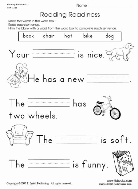 Reading Readiness Worksheets for Preschoolers Awesome Reading Readiness Worksheet 2