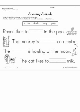 Reading Readiness Worksheets for Preschoolers Inspirational Reading Readiness Worksheet 5 Language Arts Practice From