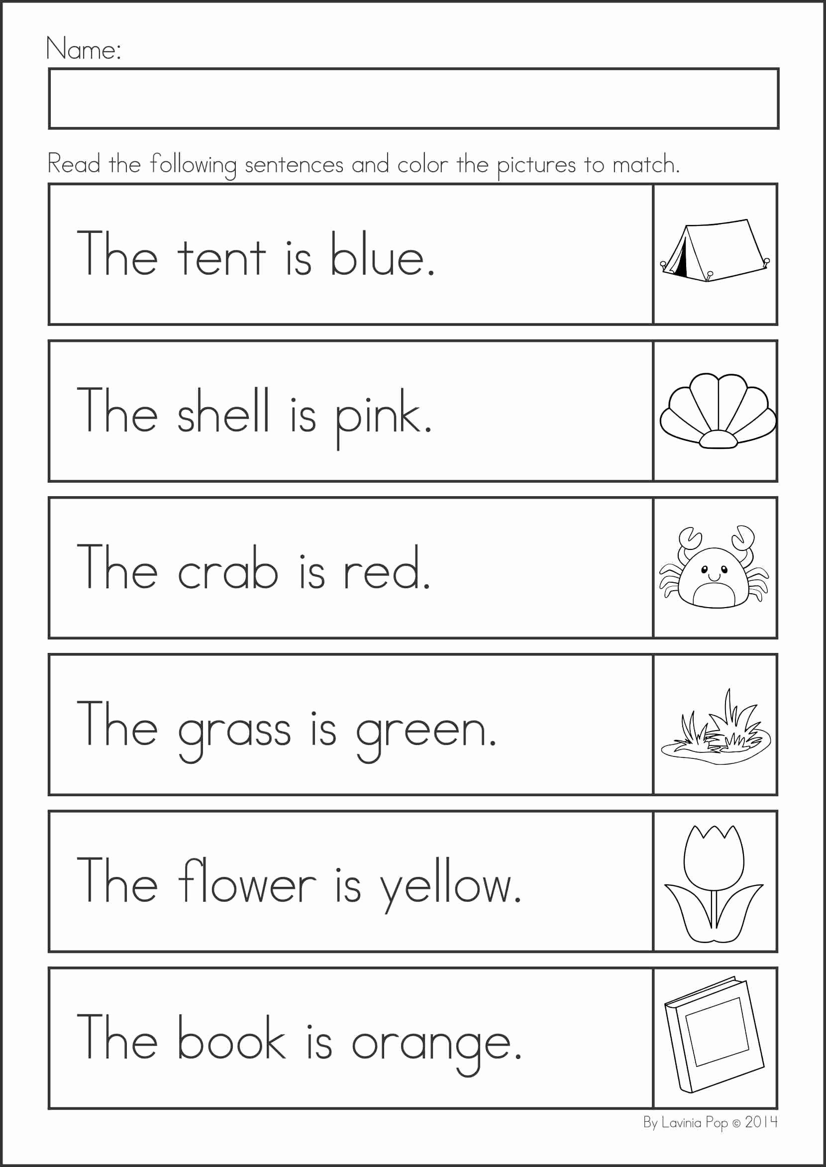 Reading Readiness Worksheets for Preschoolers Unique Summer Review Kindergarten Math & Literacy Worksheets