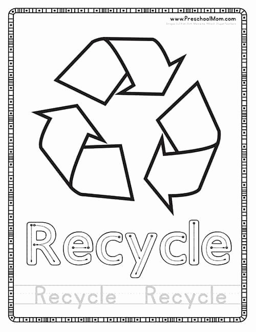 Recycling Worksheets for Preschoolers Awesome 20 Recycle Worksheets for Preschoolers