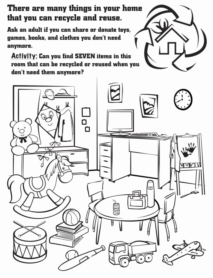 Recycling Worksheets for Preschoolers Lovely Recycling Worksheet Year Printable Worksheets and Activities