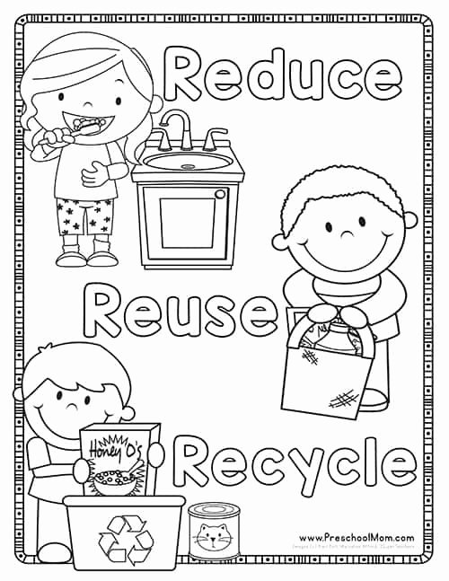 Recycling Worksheets for Preschoolers top Earth Day Preschool Printables Preschool Mom