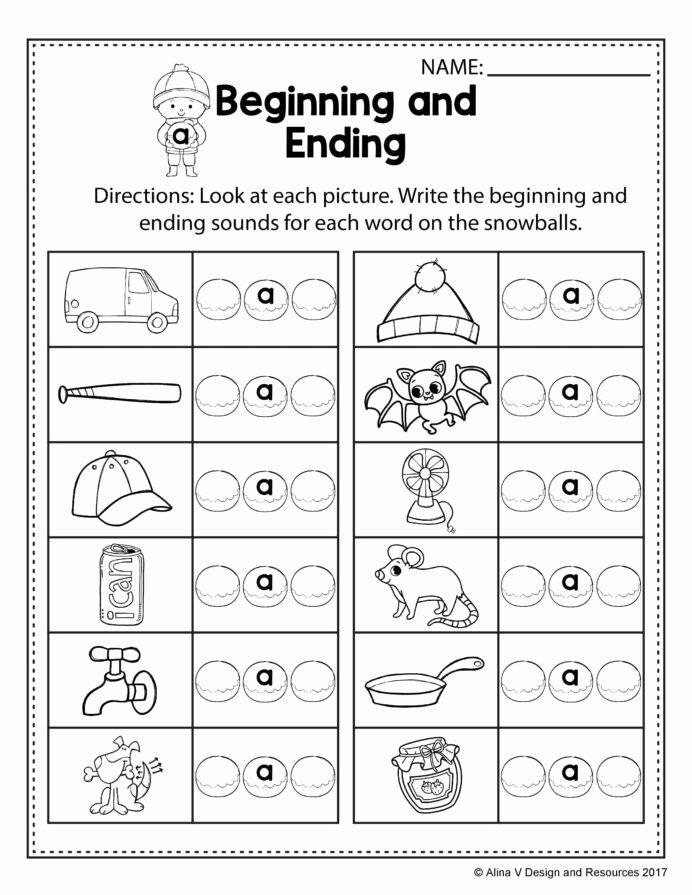 Rhyming Worksheets for Preschoolers Lovely Free Winter Literacy Worksheet for Kindergarten No Prep