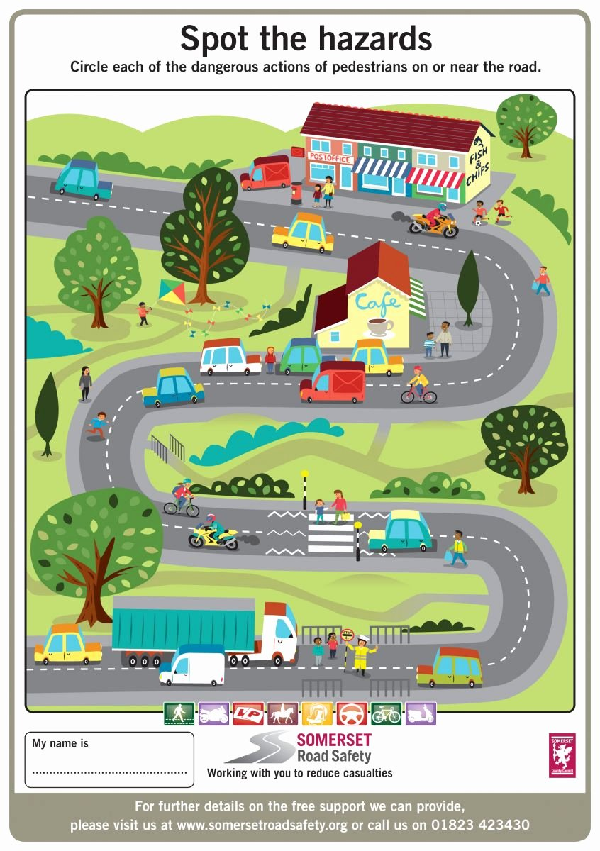 Road Safety Worksheets for Preschoolers Beautiful Key Stage 1 and 2 Activity Sheets