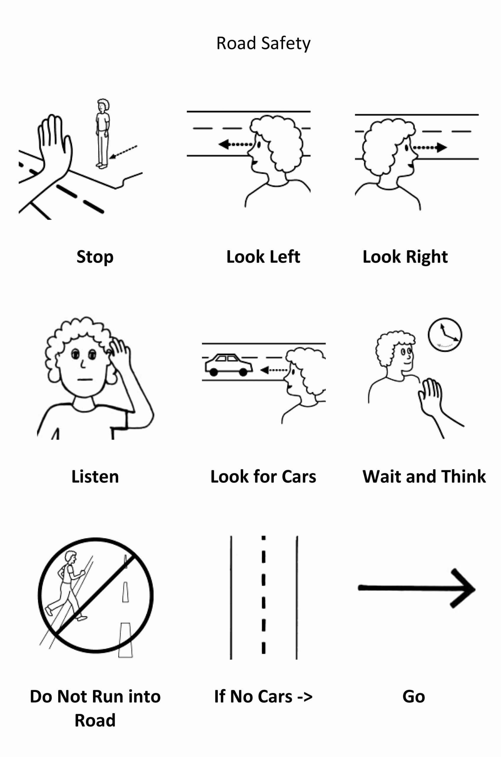 Road Safety Worksheets for Preschoolers Beautiful Road Safety