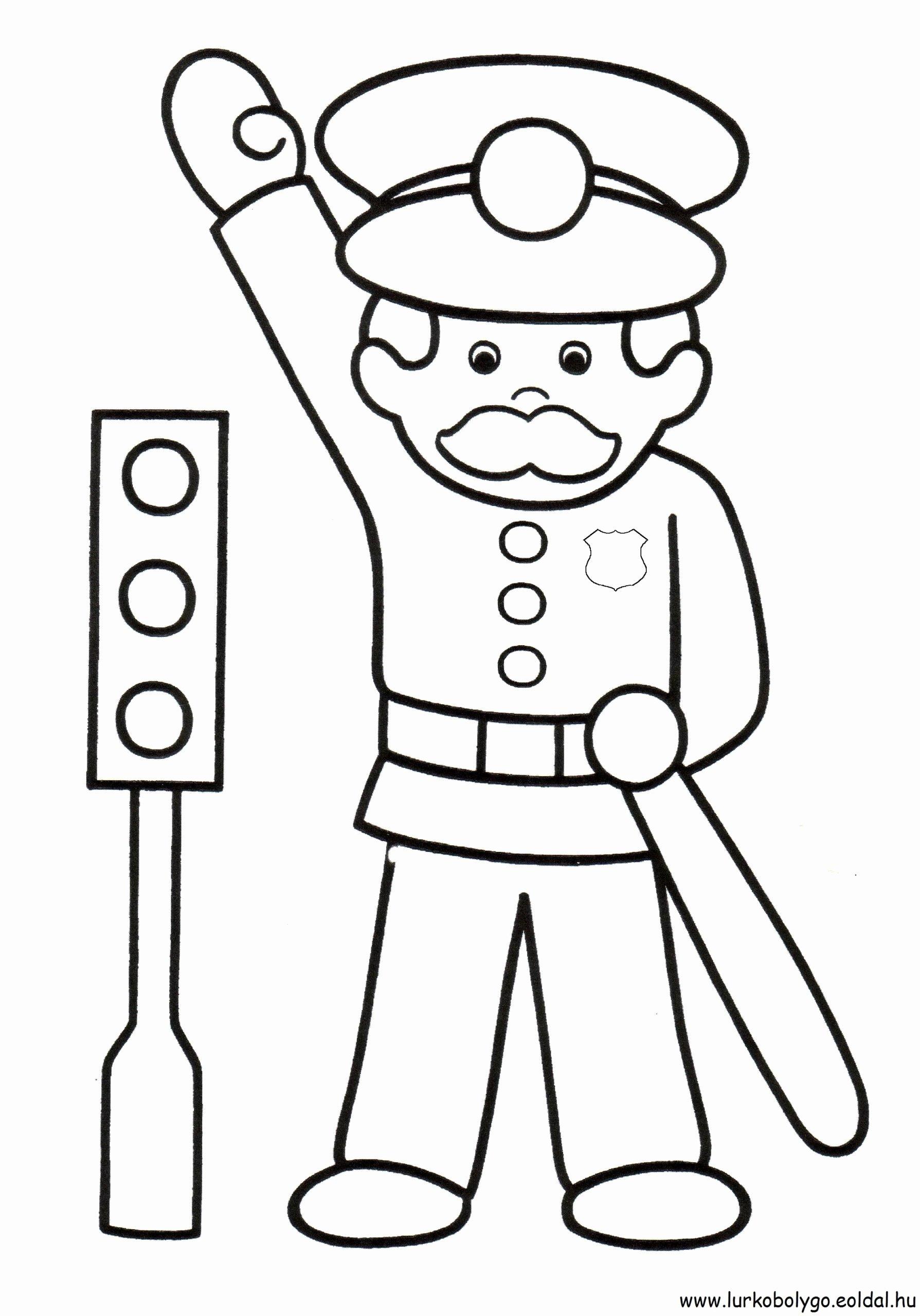 Road Safety Worksheets for Preschoolers Best Of Traffic Police Worksheet Printable Worksheets and Activities