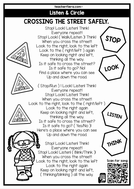 Road Safety Worksheets for Preschoolers Best Of Worksheet Free Grade K Math Worksheets to Print Printable