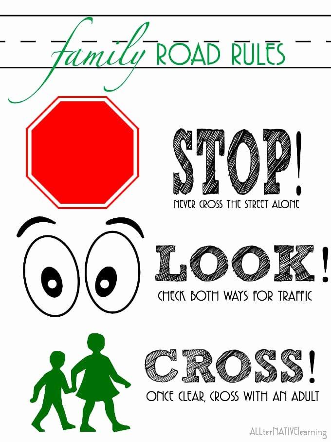 Road Safety Worksheets for Preschoolers Unique Teaching Road Safety to toddlers & Preschoolers