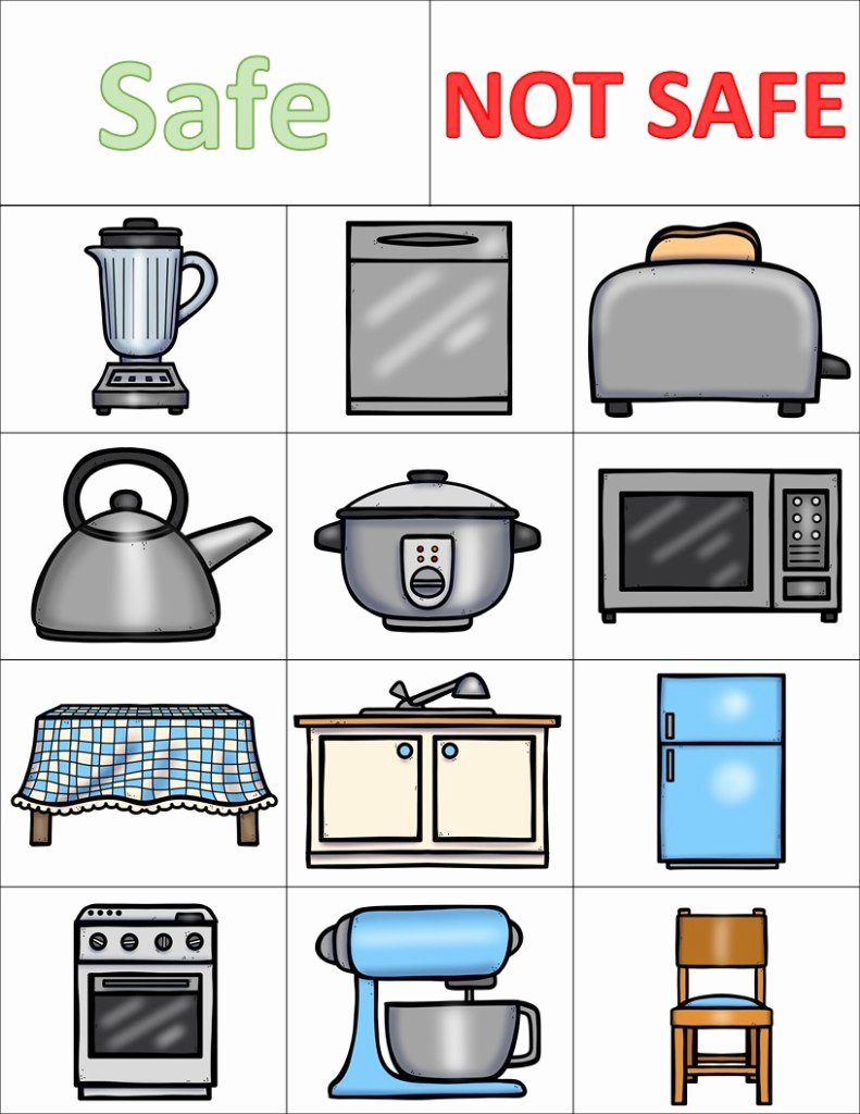 Safety Worksheets for Preschoolers Inspirational How to Easily Teach Kitchen Safety In Preschool the Super