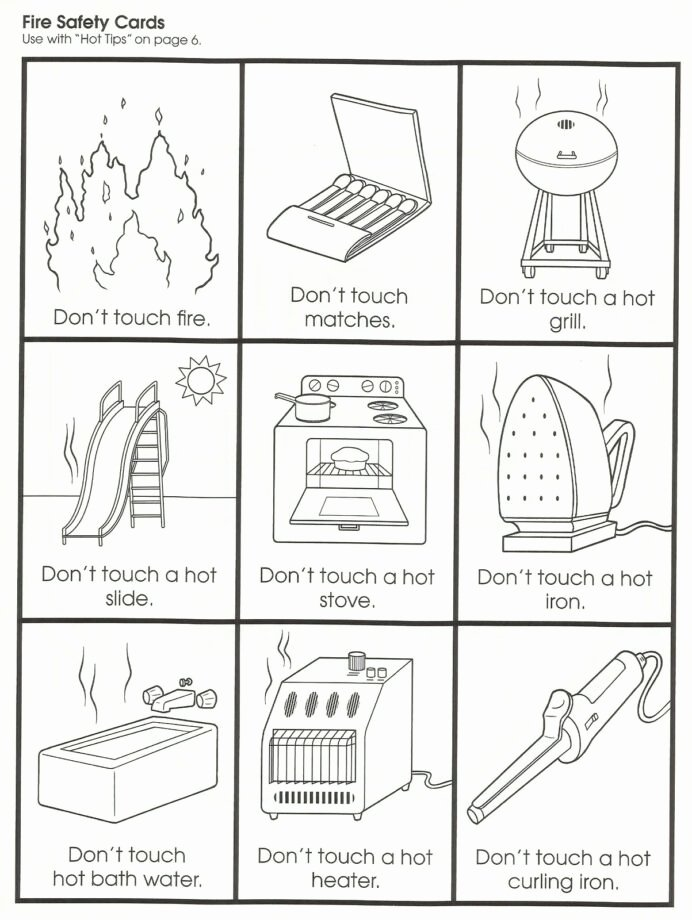 Safety Worksheets for Preschoolers Unique Fire Safety Lessons Tes Teach Worksheets Math Birthday Jokes