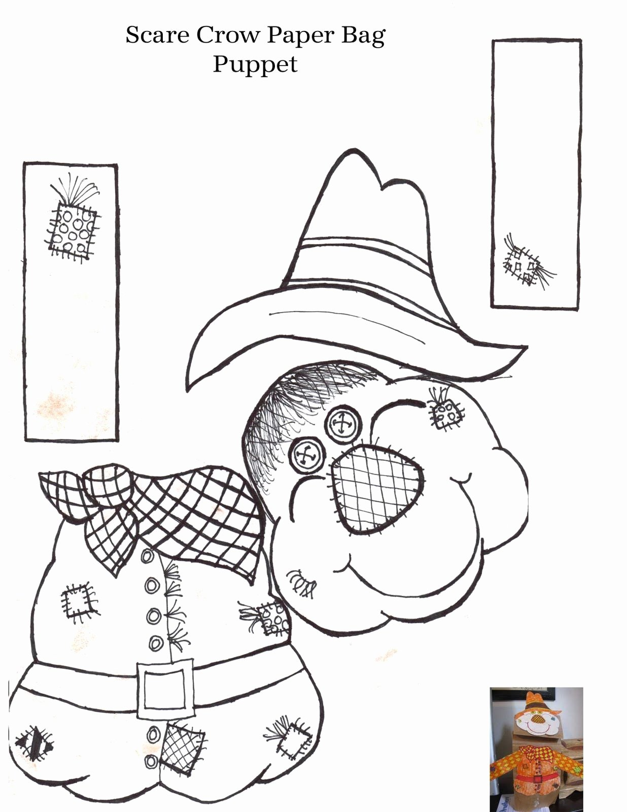 Scarecrow Worksheets for Preschoolers Beautiful Create A Scarecrow Worksheet