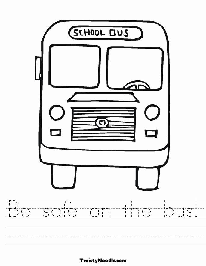 School Bus Worksheets for Preschoolers Beautiful Free School Bus Free Download Free Clip Art Free