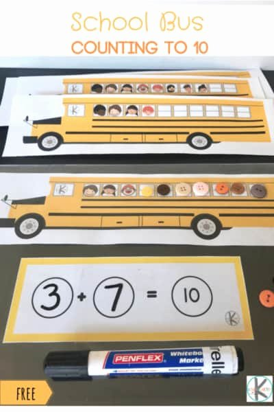 School Bus Worksheets for Preschoolers Lovely Free School Bus Games Counting to 10