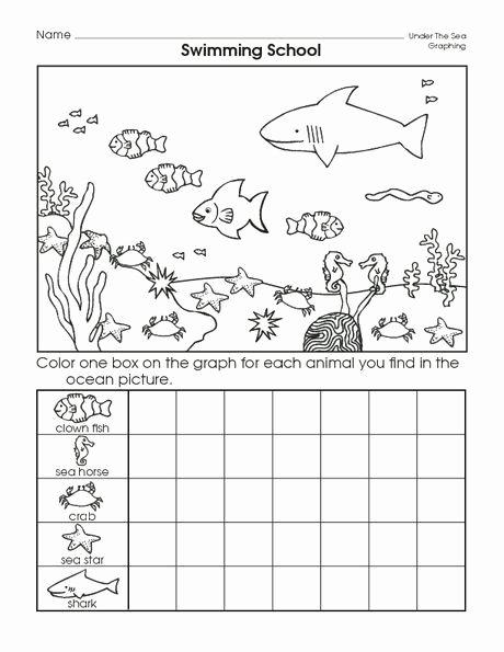 Sea Animals Worksheets for Preschoolers New Sea Animal Graph Worksheet