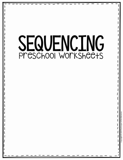 Sequencing events Worksheets for Preschoolers Awesome Worksheet Free Printable Sequencingol Worksheets 433x560