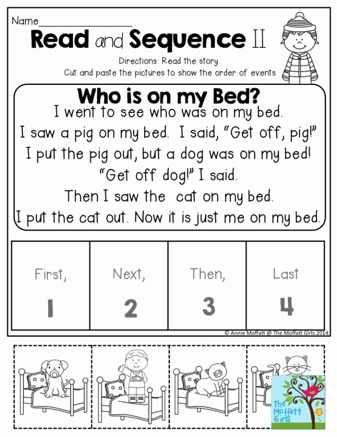 Sequencing events Worksheets for Preschoolers Beautiful January Learning Resources with No Prep Reading