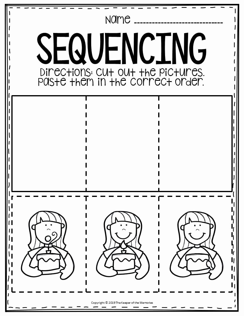 Sequencing events Worksheets for Preschoolers Inspirational Free Printable Sequence Of events Worksheets
