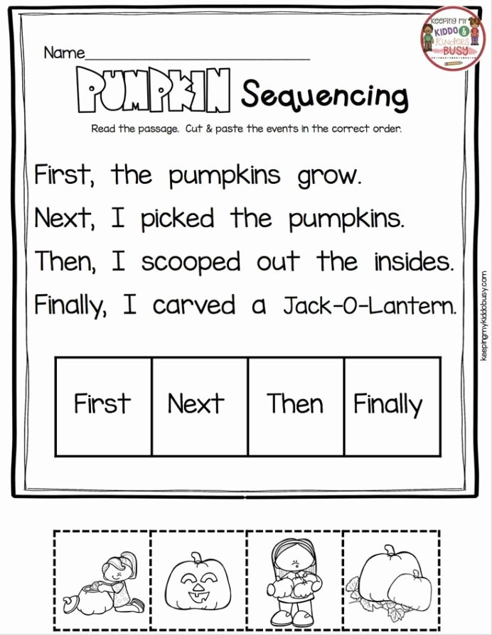 Sequencing events Worksheets for Preschoolers Inspirational Sequencing events In Chronological order Activity Sheet
