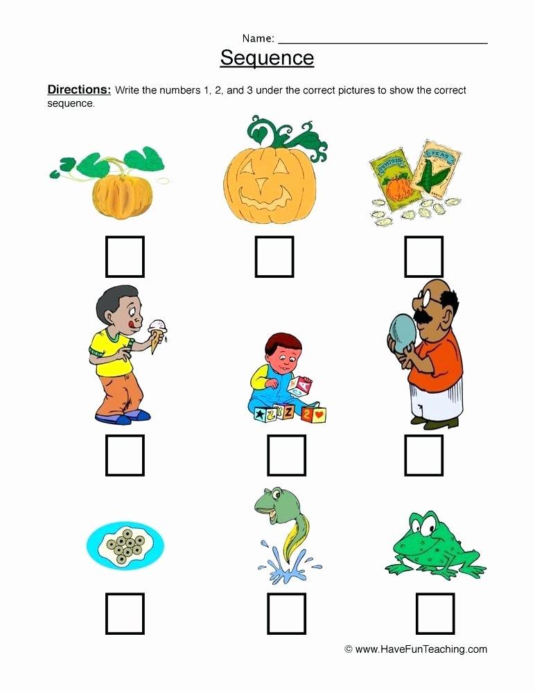 Sequencing Worksheets for Preschoolers Beautiful Sequencing Worksheets for Preschool – Dailycrazynews