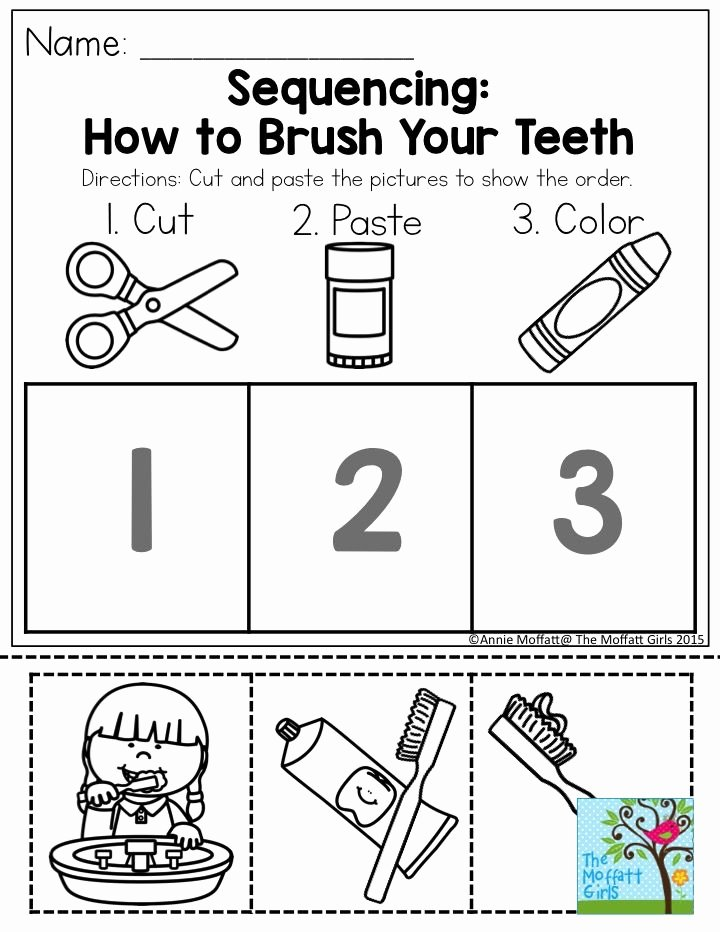 Sequencing Worksheets for Preschoolers Inspirational 28 [ Sequencing Worksheets for Preschoolers ]