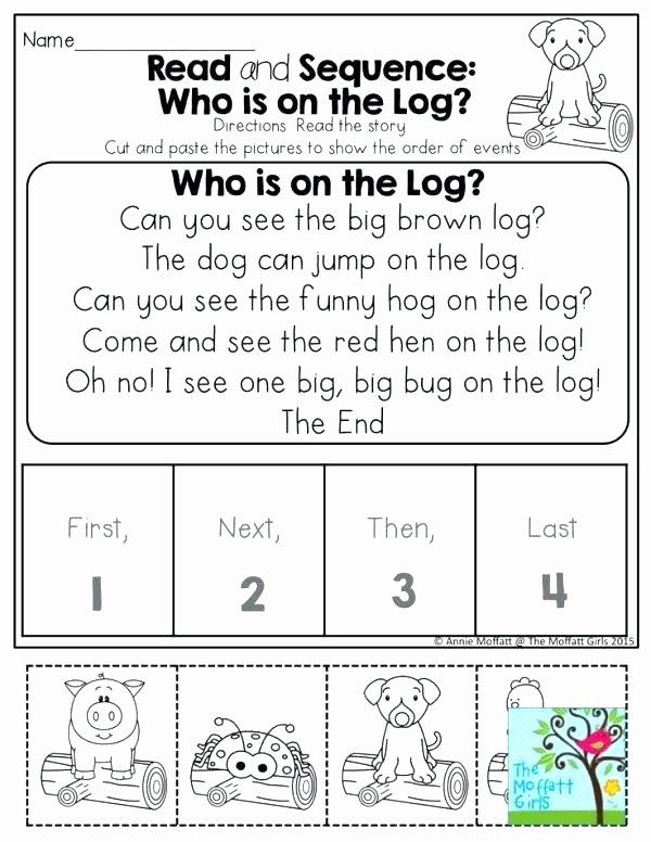 Sequencing Worksheets for Preschoolers Inspirational Sequencing Activities for Kindergarten Free Printable