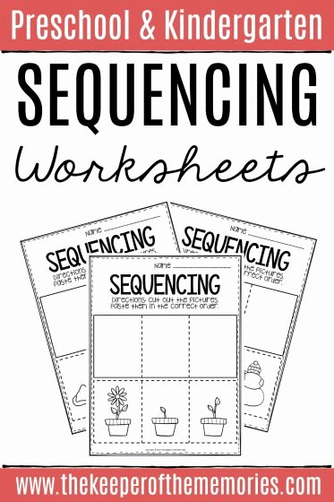 Sequencing Worksheets for Preschoolers Lovely 3 Step Sequencing Worksheets the Keeper Of the Memories
