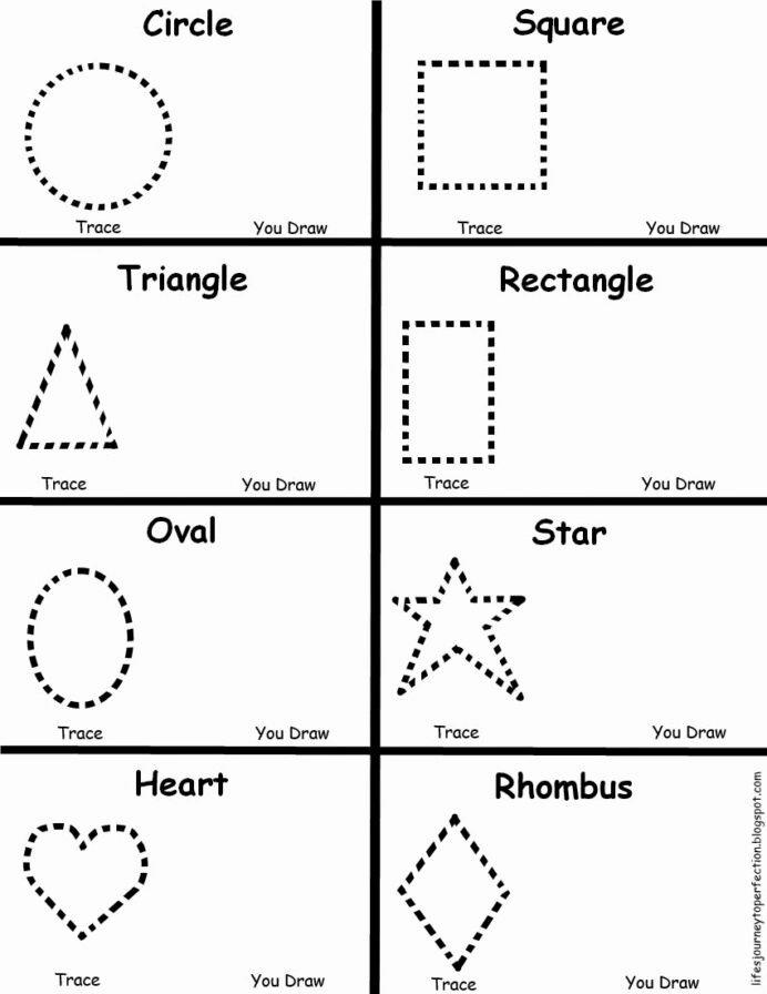 Shape Review Worksheets for Preschoolers Inspirational Preschool Shapes Worksheet Kindergarten Worksheets High