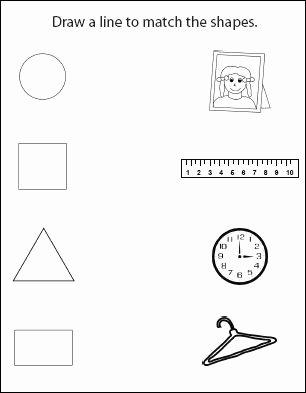 Shape Review Worksheets for Preschoolers New Worksheet Fabulous Kindergarten Learning Sheets