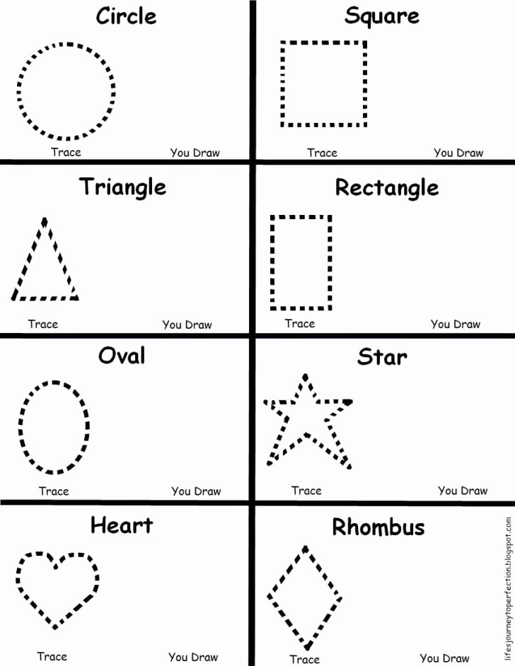 Shapes Tracing Worksheets for Preschoolers Awesome Worksheet Preschoolng Worksheets Fabulous Tracing Circles