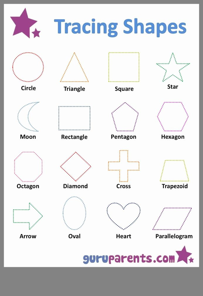 Shapes Worksheets for Preschoolers Lovely Pin by Tweltarlamin Learning Shape Worksheets for