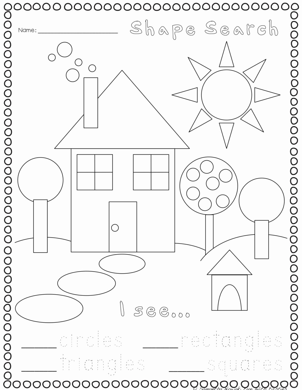 Shapes Worksheets for Preschoolers Lovely Worksheets Print Go Geometry Practice Worksheets Preschool