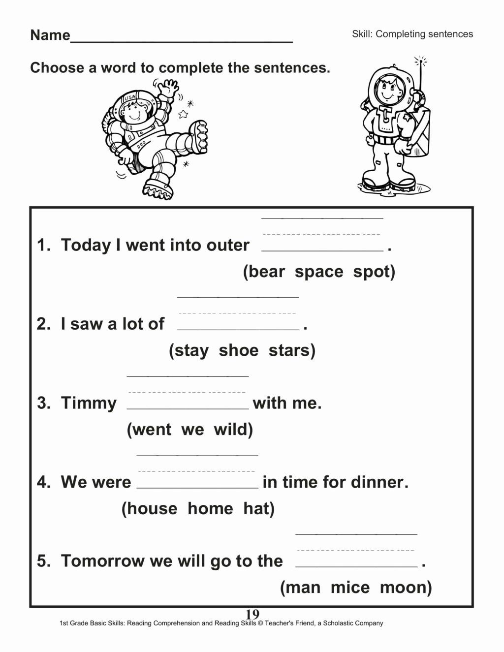 Sharing Worksheets for Preschoolers Awesome Worksheet 1st Gradeheet Reading for Educations