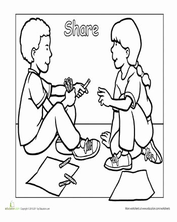 Sharing Worksheets for Preschoolers Lovely Sharing Worksheets for Preschoolers In 2020