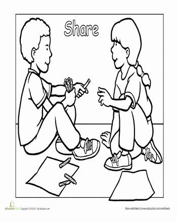 Sharing Worksheets for Preschoolers Lovely Sharing Worksheets for Preschoolers In 2020