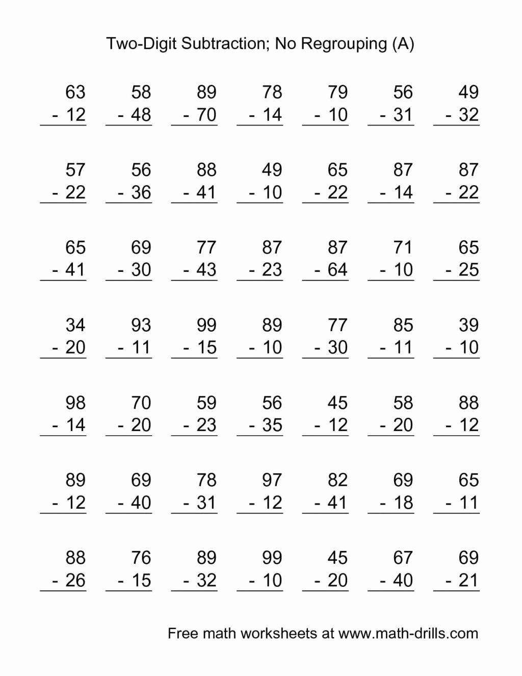 Simple Addition and Subtraction Worksheets for Preschoolers Fresh Worksheet Worksheet Free Math Worksheets Second Grade