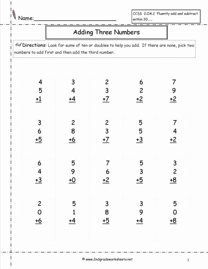 Simple Addition and Subtraction Worksheets for Preschoolers top Math Worksheet Amazing Math Problems for 2nd Graders