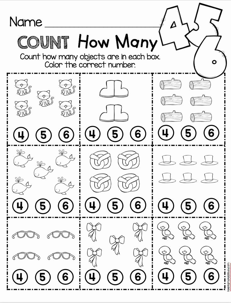 Simple Math Worksheets for Preschoolers Lovely Counting and Cardinality Freebies Preschool Math Worksheets