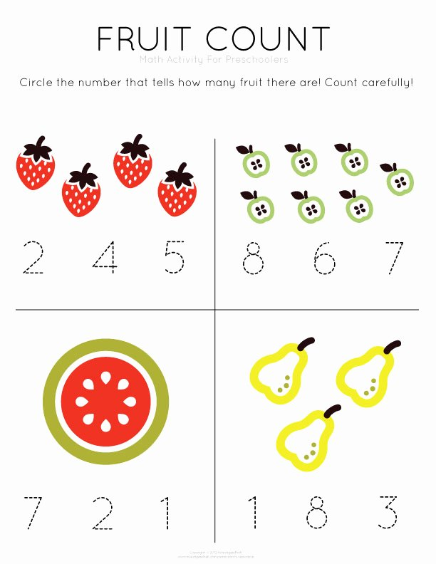 Simple Math Worksheets for Preschoolers Lovely Math Worksheets for Preschool