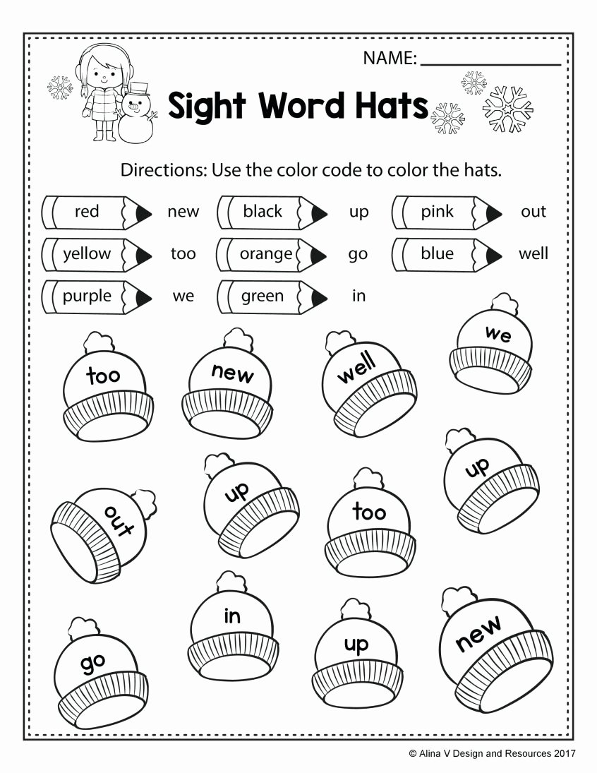 Simple Worksheets for Preschoolers Best Of Worksheet Kindergartenets Printable Math for 1st Grade