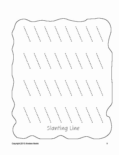 Slanting Lines Worksheets for Preschoolers New Pre K Worksheets Preschool Coloring Pages