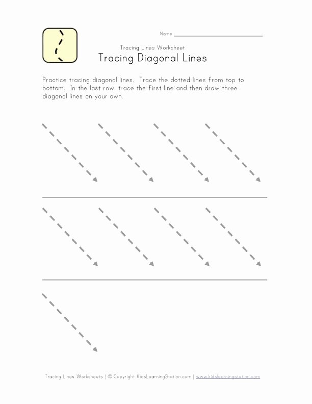 Slanting Lines Worksheets for Preschoolers top Writing Readiness Worksheet