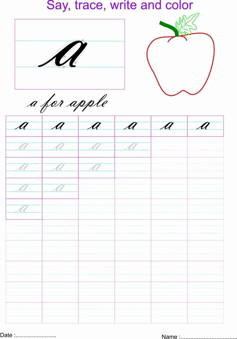 Small Letter Worksheets for Preschoolers Fresh Math Worksheet Smalls Font for Crafts Cursive Writing