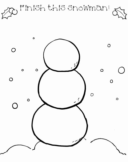 Snowman Worksheets for Preschoolers New Good Morning Show Draw A Snowman