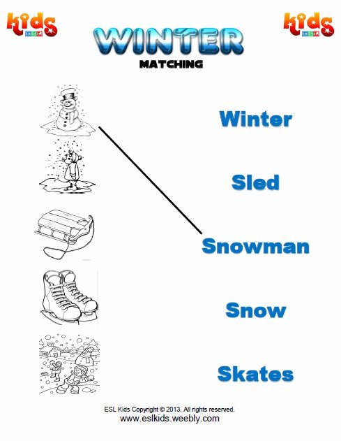 Snowman Worksheets for Preschoolers top Winter Activities Games and Worksheets for Kids