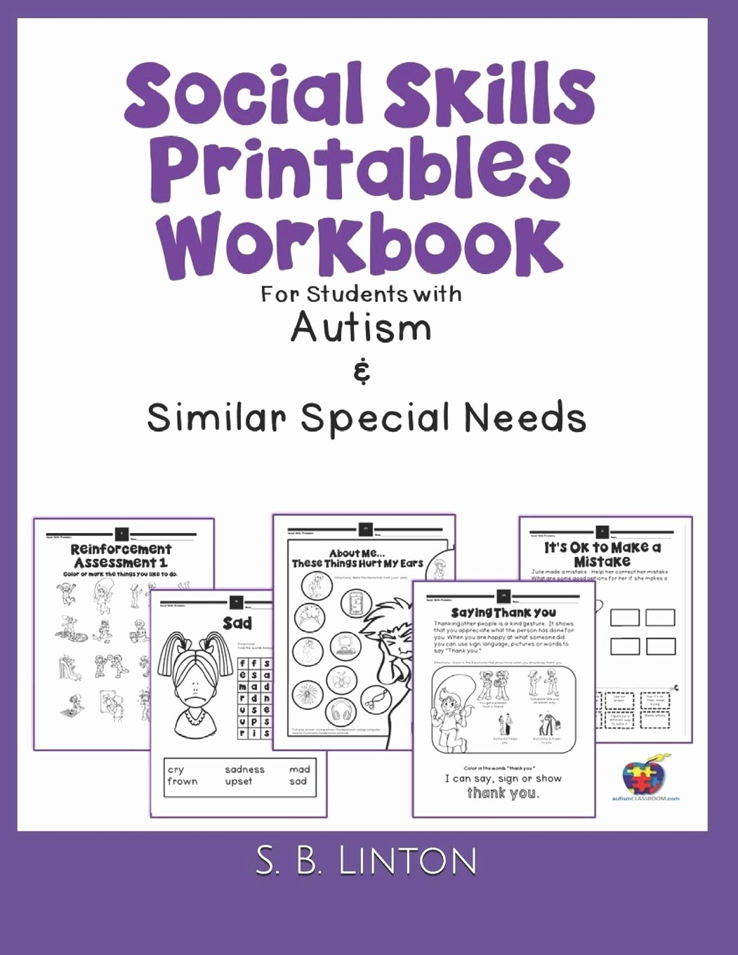 Social Skills Worksheets for Preschoolers Unique social Skills Printables Workbook for Students with Autism