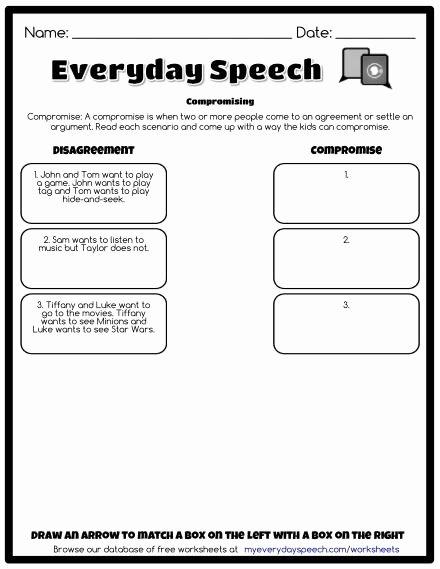 Social Skills Worksheets for Preschoolers Unique Worksheets