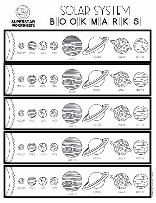 Solar System Worksheets for Preschoolers Inspirational solar System Worksheets Superstar Worksheets